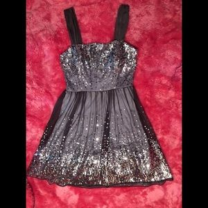 Sequined Semi-Formal Dress
